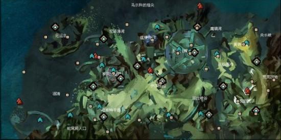 激战2马尔科之跃地图资料 观景点探索点攻略