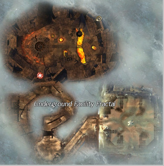 地下基地副本地图
