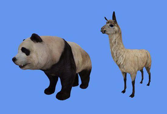 """激战2美服""""四风节""""世界动态出迷你小熊猫宠物"""