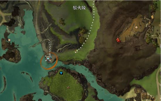 激战2凯席斯山地图暴民团升级路线