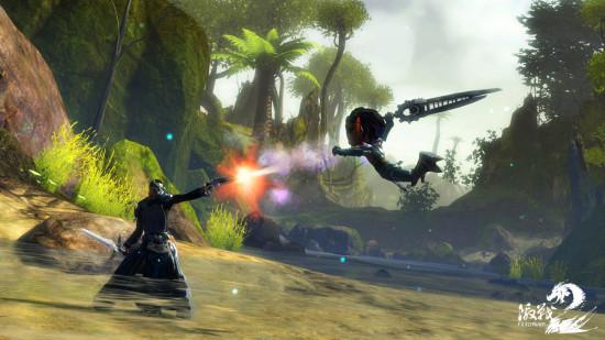 国人骄傲《激战2》携战队现身科隆游戏展