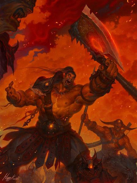 诺兹多姆的时之沙:你眼中的格罗姆·地狱咆哮