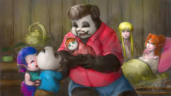 熊猫人父子漫画:我的小妹妹不能这么可爱