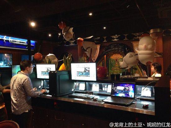 萌爆了 日本FF14主题咖啡厅游玩全记录