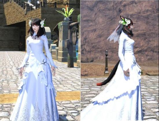 ff14结婚登记及任务流程介绍 婚礼服美哭