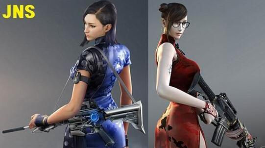 韩穿越火线加入女性新角色