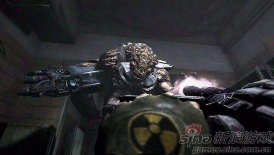 视频中的战斗场景