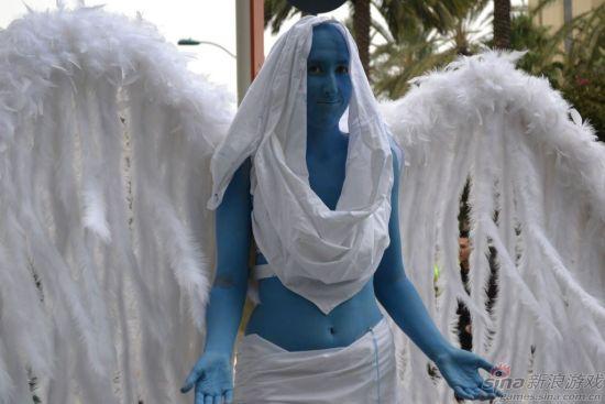 这是……天使姐姐
