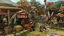 《怪物猎人P3》游戏画面(一)