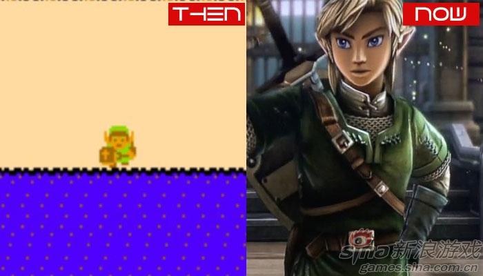 看游戏角色形象的时光变迁