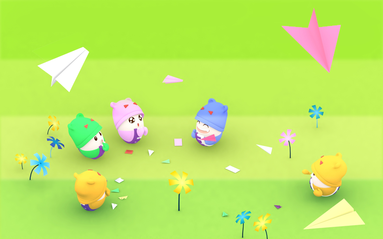 《egg life》可爱壁纸(7)