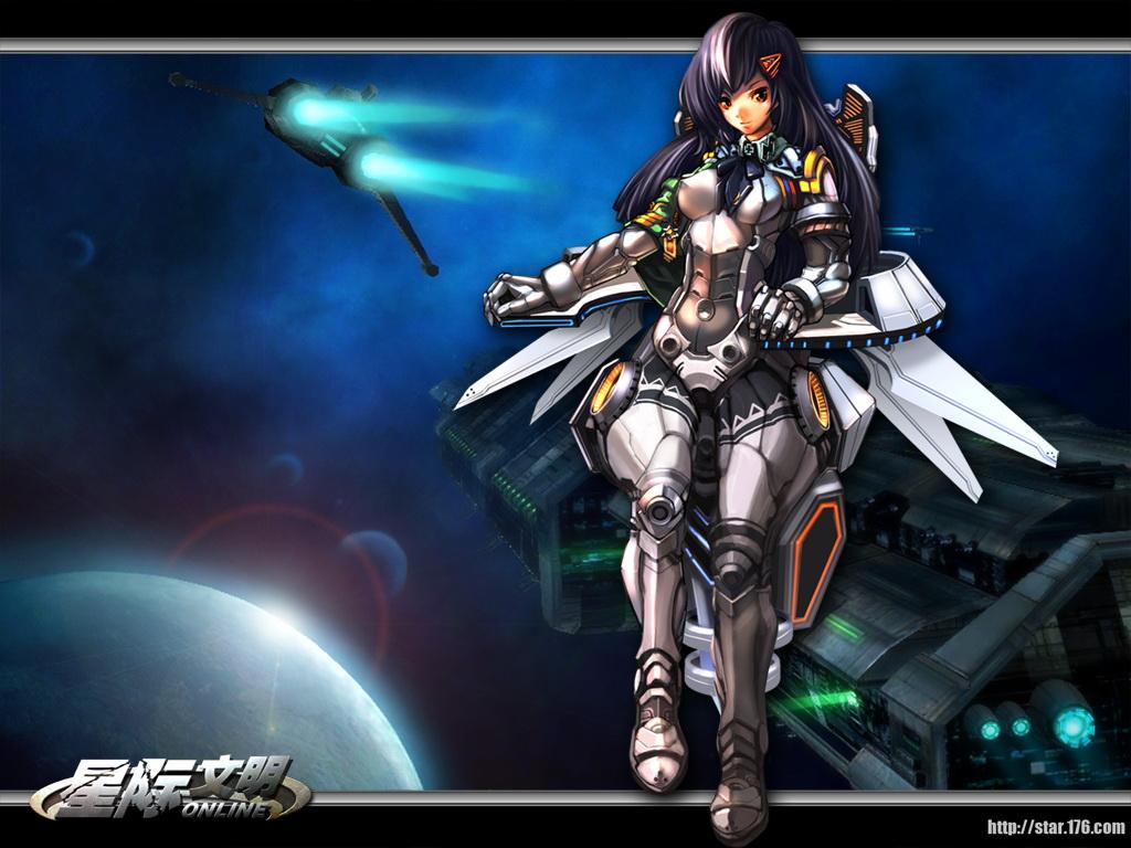 《星际文明online》游戏壁纸(4)