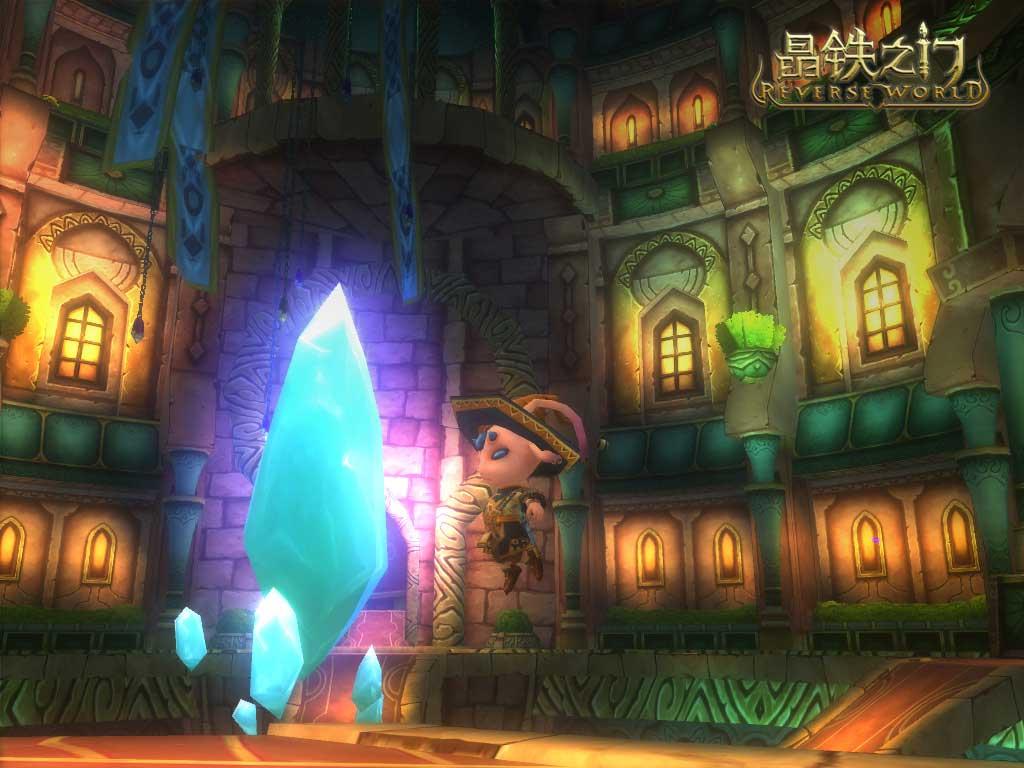 《晶铁之门》游戏壁纸(9)