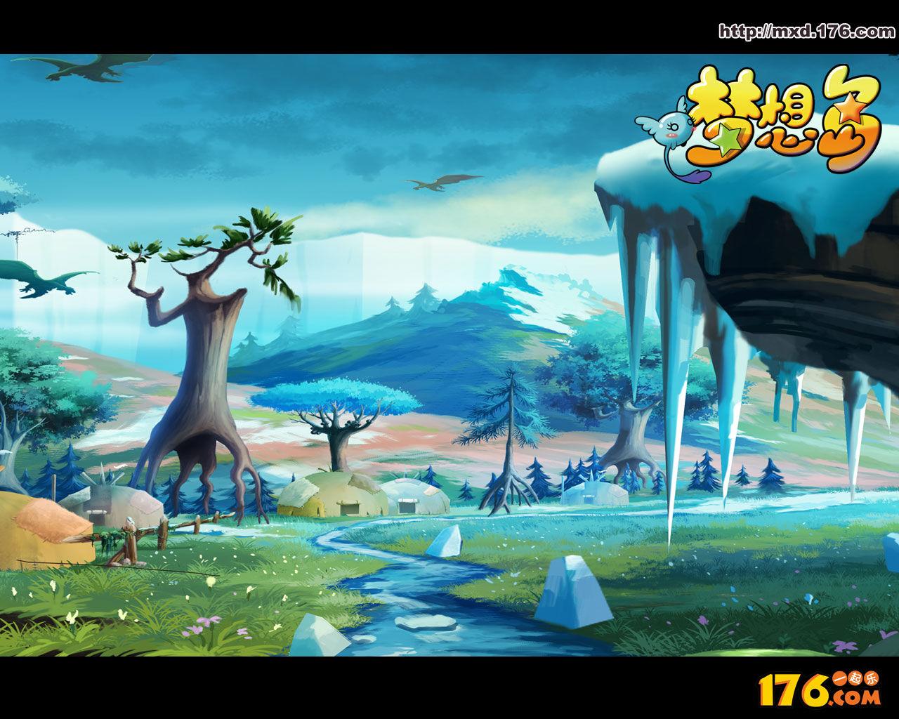 《梦想岛》游戏壁纸(10)
