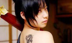 性感女玩家纹身