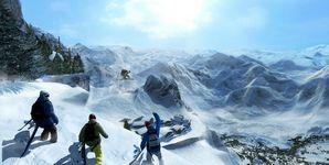 大雪纷飞看滑雪游戏 体验别样速度激情