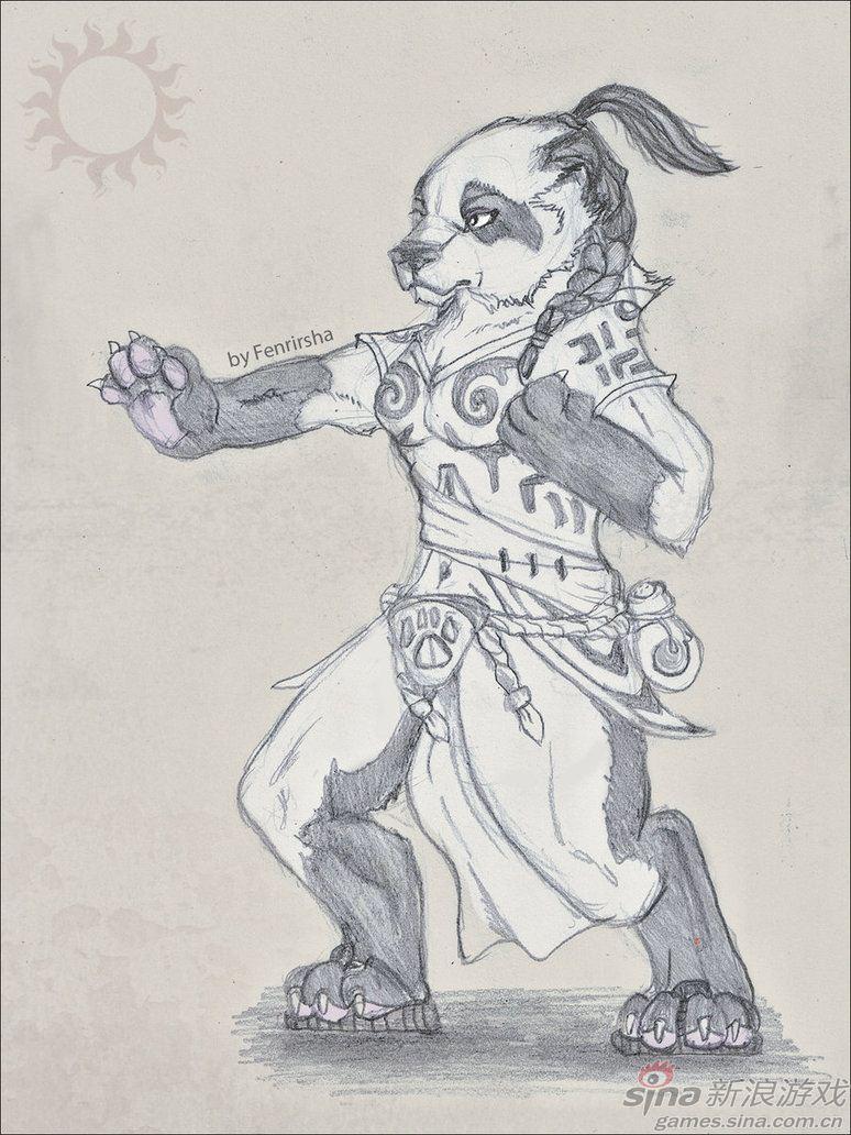 玩家自创女性熊猫人