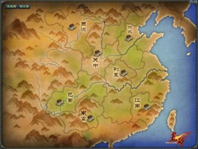 赤壁世界地图
