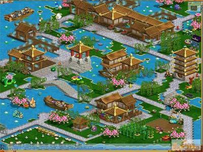 "town06/300464;所在服务器:双子座""庄园""的糖豆完全设计成苏州园林珠海市春芽园林景观设计有限公司图片"