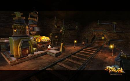 展现精致细节 神魔大陆室内场景欣赏