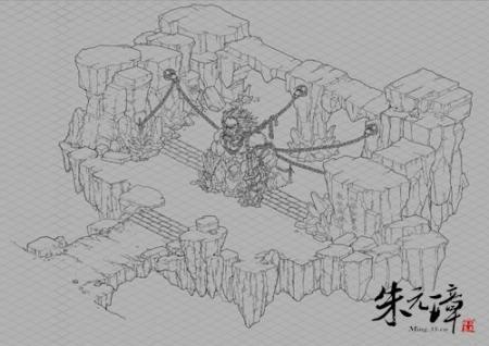《朱元璋》游戏场景设计线稿绝密曝光