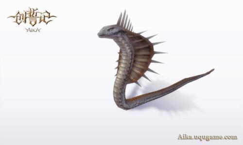 素描动物 蛇