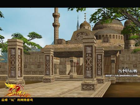 翼魂》古希腊式建筑造型精美截图