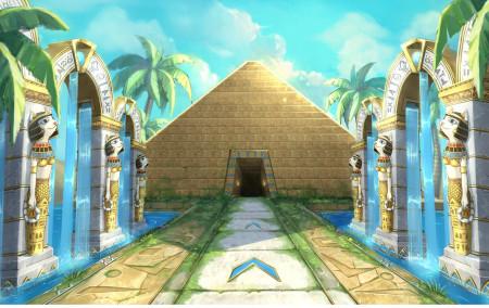 金字塔近景