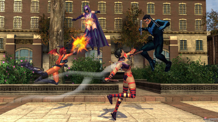 新浪游戏_《DC漫画英雄》11月发布 跨PC、PS3