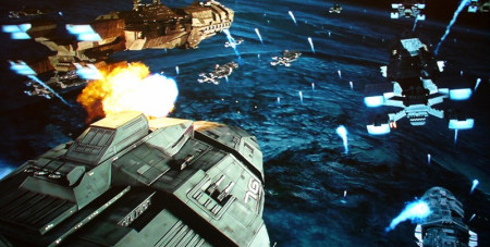 太空飞船的科幻电影_为了达到远方,电影中的飞船也使用了跃迁技术