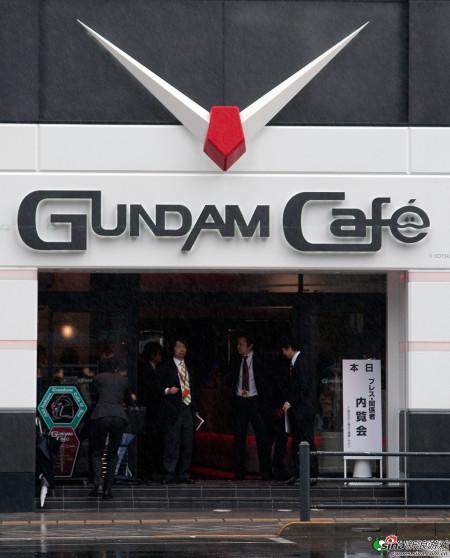 新浪游戏_高达主题咖啡馆面世 角色变身可口食物