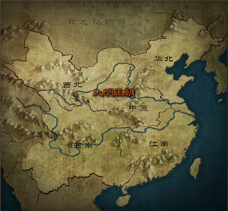 九阴真经世界地图
