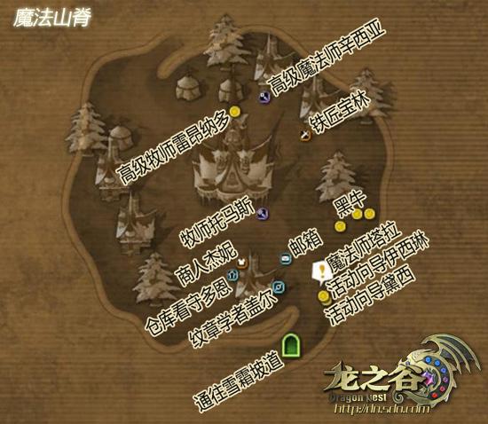 龙之谷新手资料-游戏地图