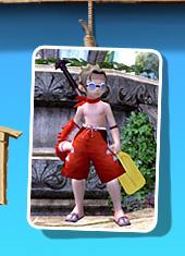 沙滩游泳服套装