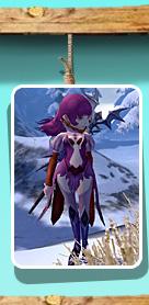 紫血长袍套装