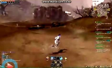 剑士沙漠刷怪演示视频