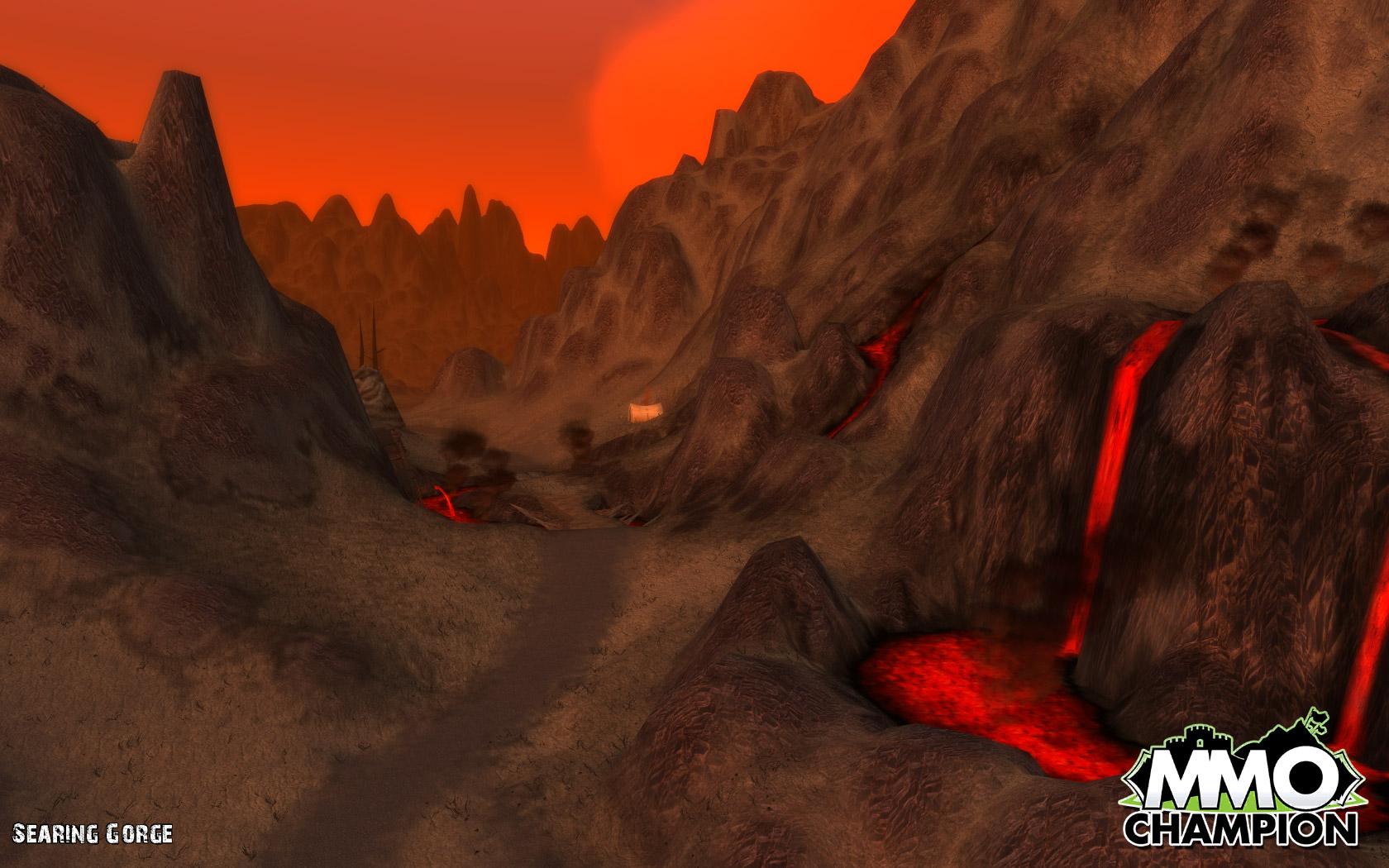 魔兽世界大灾变地图变更东部王国-灼热峡谷-新浪魔兽