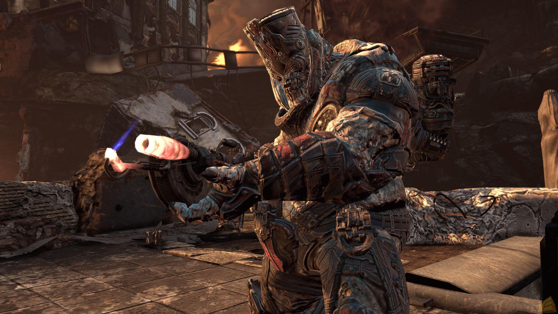 《战争机器2》e3游戏画面图片