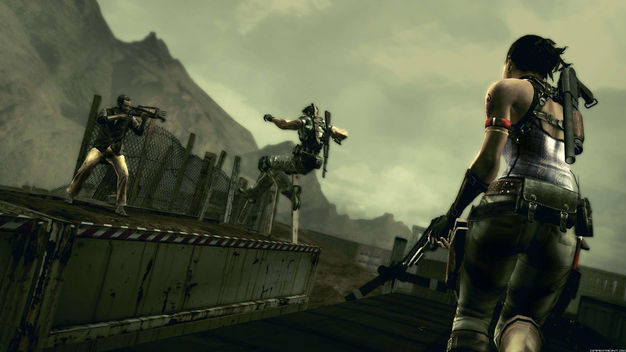 《生化危机5》游戏新画面(5)图片