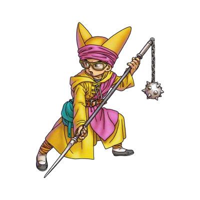 《勇者斗恶龙VI 幻之大地》人物原画