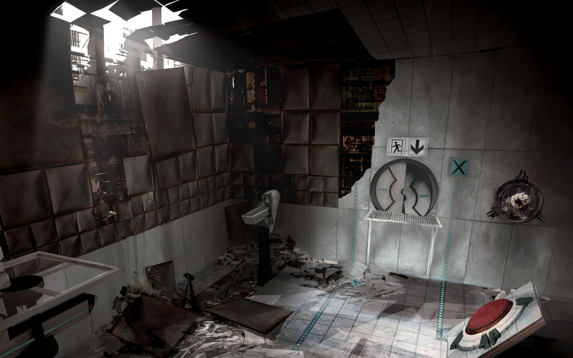 《传送门2》高清壁纸下载