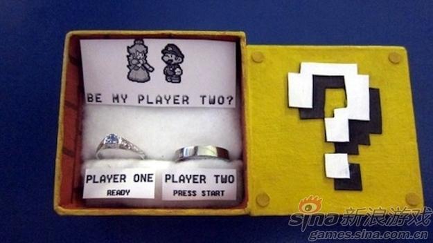 看国外玩家如何创意求婚