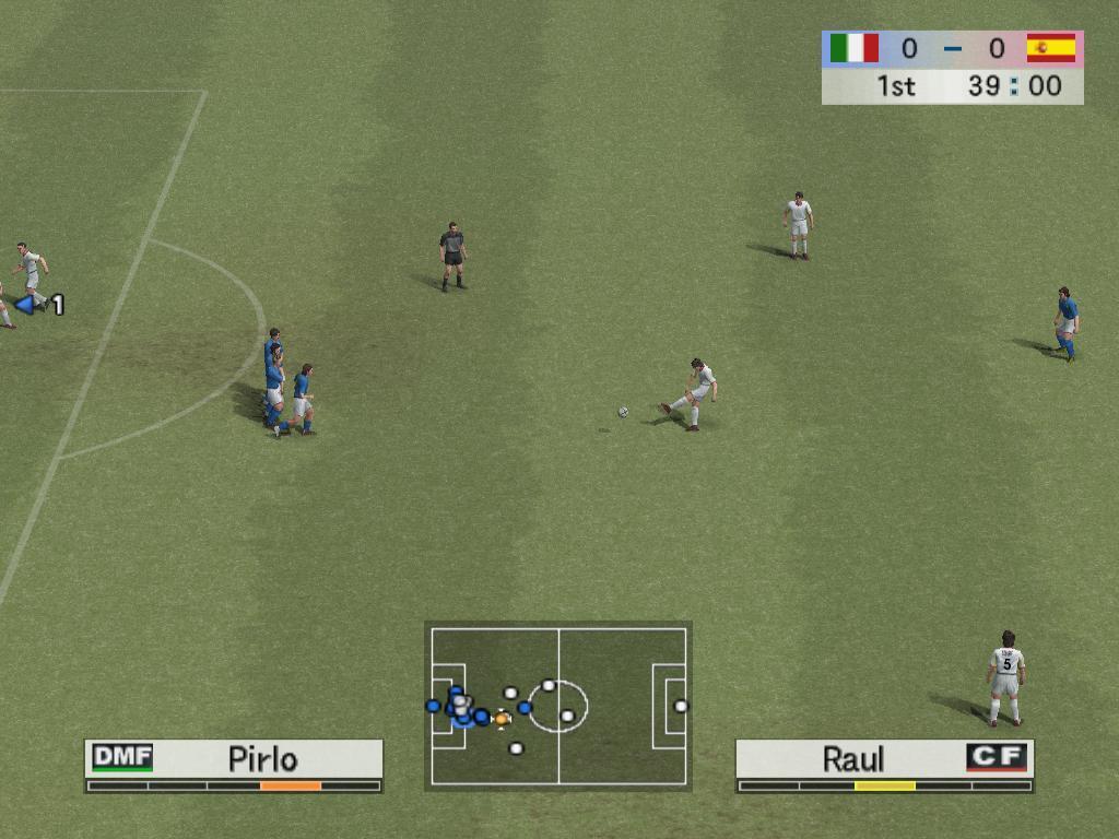 《实况足球pes4》pc版抢先试玩