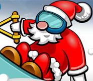 圣诞老人滑雪橇