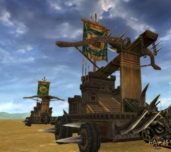 游戏城堡瞭望塔图片