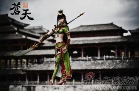 新浪游戏_中国元素渐行火热 看国外网游与中华文化