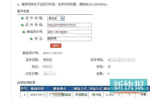 广州采血点涉嫌倒卖献血证