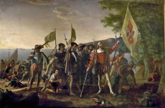 1492年10月12日,克里斯托弗・哥伦布抵达美洲,开启了西班牙对美洲的殖民史。