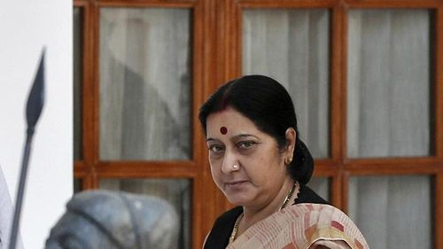 印度外交部长斯瓦拉杰
