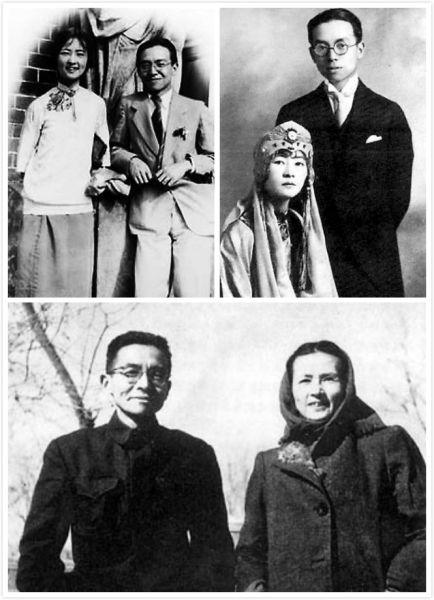 梁思成林徽因夫妇图片